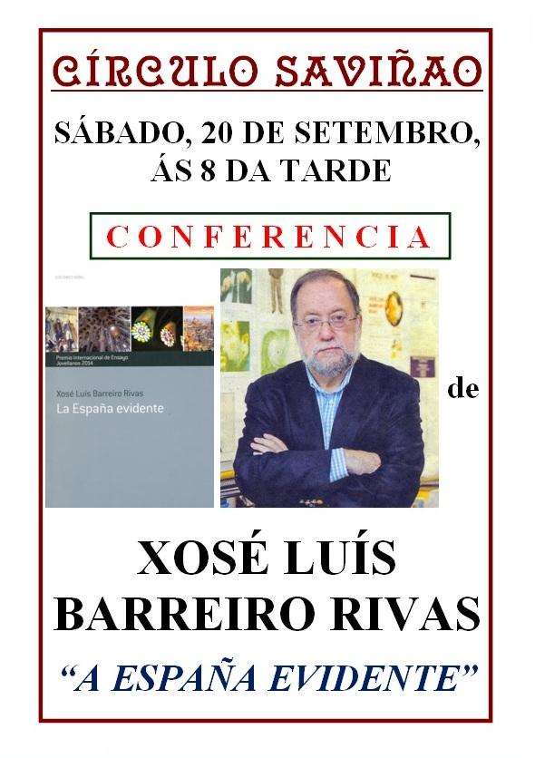 CARTEL XOSÉ LUIS BARREIRO RIVAS (1)