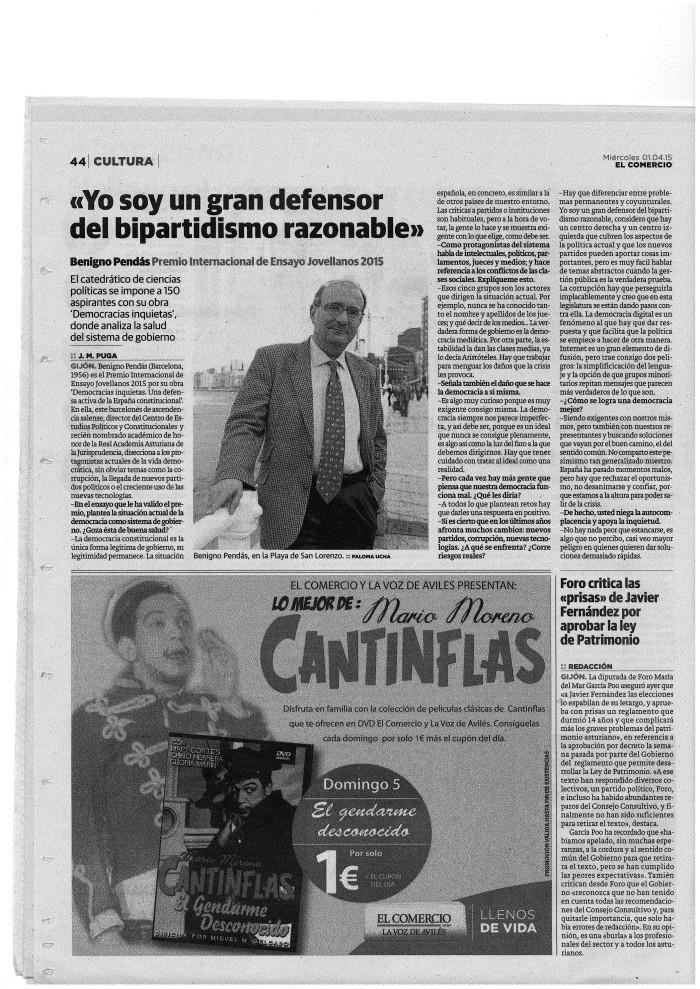 Pendás El Comercio