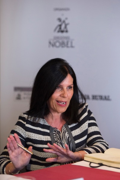 MARISA MORÁN. XXIII Premio Internacional de Ensayo Jovellanos. Ediciones Nobel / Gr. Paraninfo. (© Jorge Peteiro). Gijón, 17/03/2017.